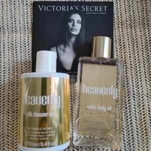 🍒NWT Victoria Secret satin oil set🍒
